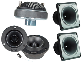 Pro Audio Horns & Tweeters PA Replacements