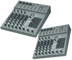 Pro Audio 5-Channel PA Mixers only here at SmartDJ.com