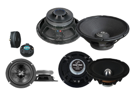 Pro Audio PA Speaker Replacement Parts