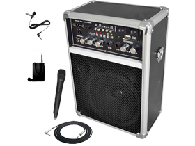 Pro Audio Portable PA Speakers