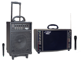 Pro Audio Battery Powered PA Systems