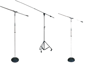 Pyle Pro Boom & Recording Microphone Stands