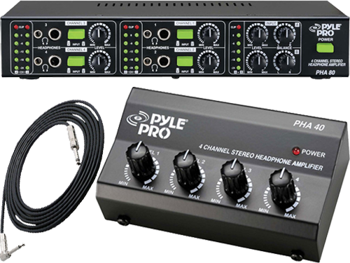 Pyle Pro Headphone Amplifiers