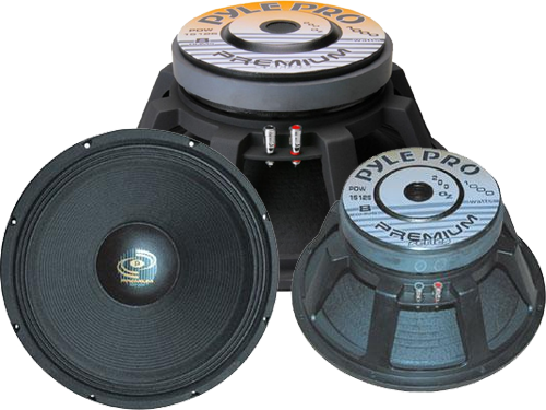 Pyle Pro 15 Inch PA Speaker Replacement Parts