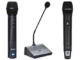 Welcome to RCF Microphones at SmartDJ.com