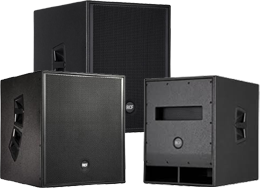 Welcome to RCF Subwoofers at SmartDJ.com