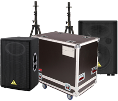 Speakers, Stands & Cases
