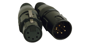 Professional 5-Pin Lighting Cables
