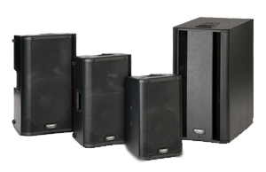 Pro Audio Speakers & Subwoofers