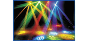 club stage lighting effects